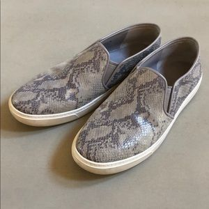 Cole Haan Snake Print Slip On Sneakers